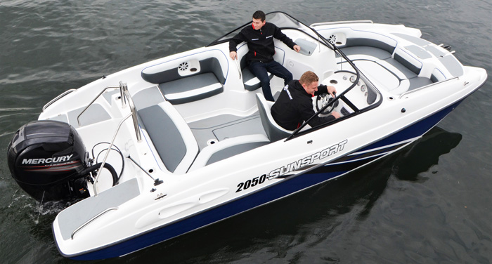 Sunsport 2050 boat trip charter cape town